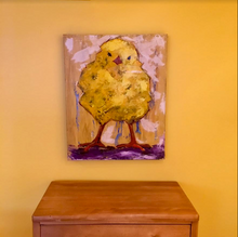 Chubby Chick Jose by Doug Belding on wall