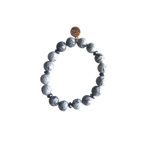 Mapstone Stretch Bracelet