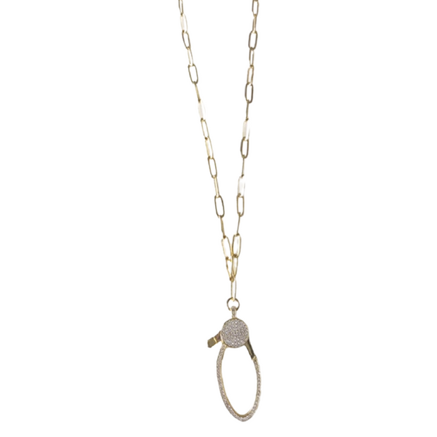 Lock Down Necklace 1