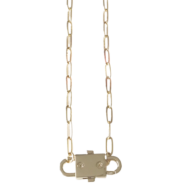Lock It Up Necklace 1