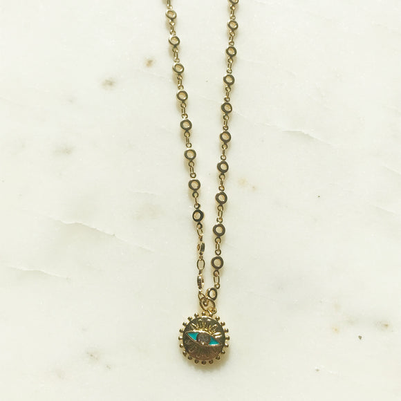 The Turquoise Eye Necklace