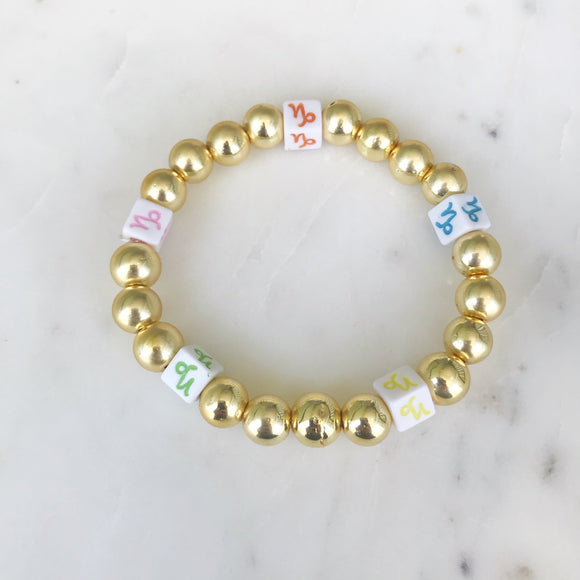 Zodiac Sign Stretch Bracelets