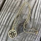 Gold Talisman Necklace