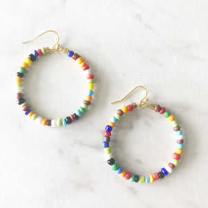 Cabo Beaded Earrings - Multi
