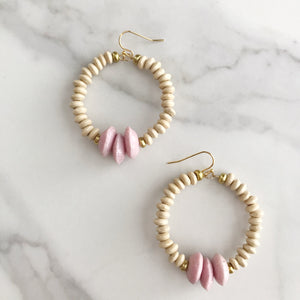Wrightsville Earrings - Pink