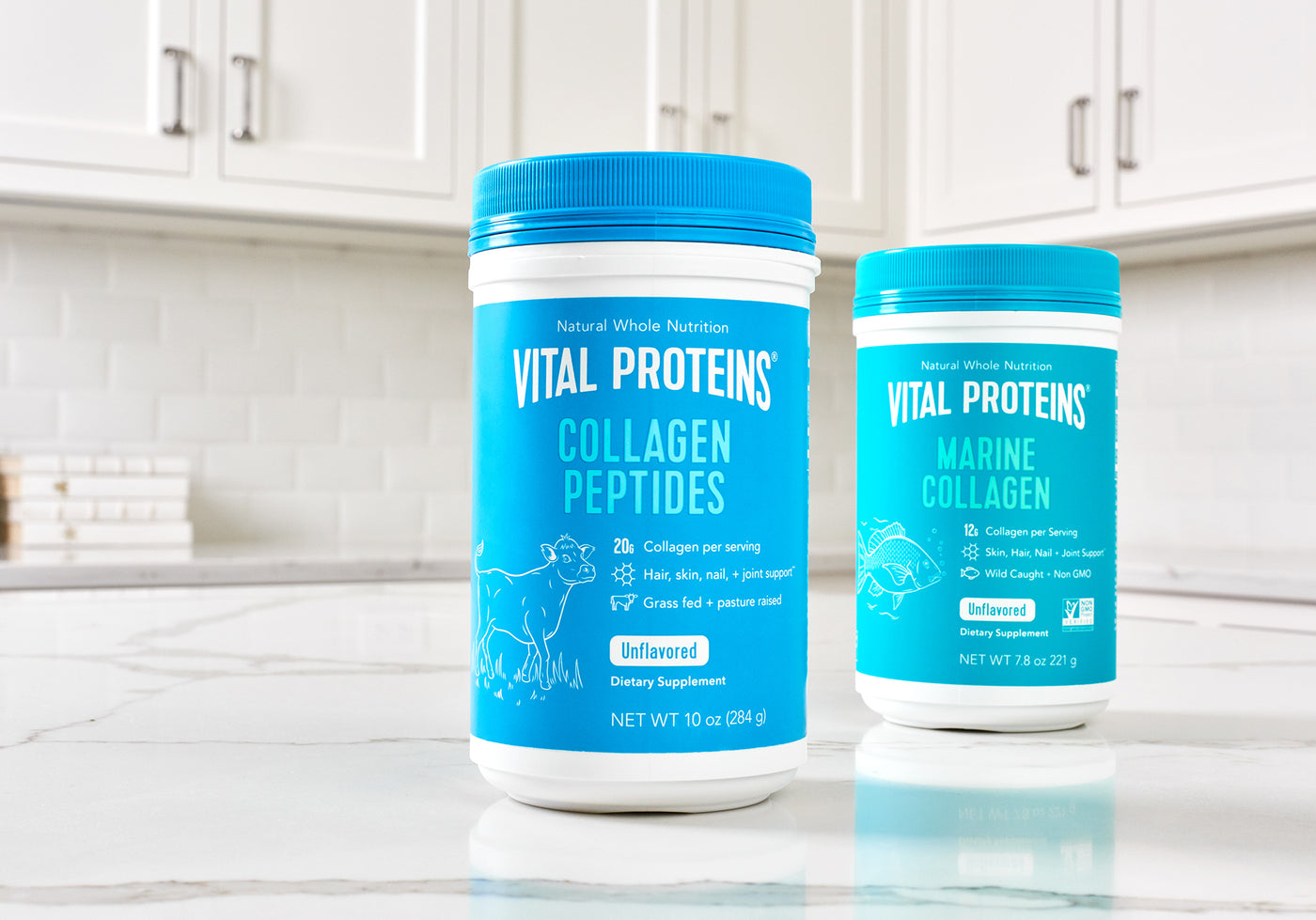 Collagen Peptides vs  Marine Collagen: What's the Difference