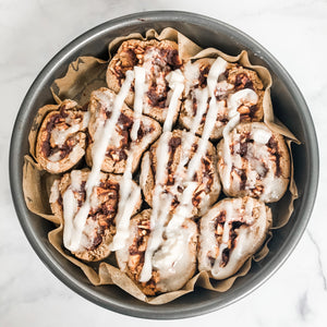 Fall Mornings Call For These Warm Apple Cider Cinnamon Rolls