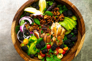 This Tangy Blackberry Chicken Salad Recipe Makes The Perfect Light Lunch