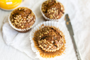 These Healthy Pumpkin Muffins Are The Only Thing We Want For Breakfast This Season