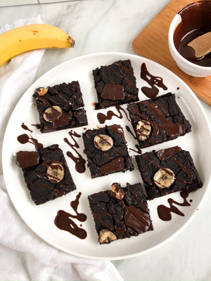 This Double Chocolate Banana Brownie Recipe Is The Ultimate Treat