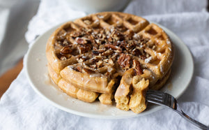 Fall Breakfast Recipe: Sweet Potato Waffles