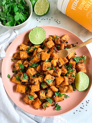 These Thai Sweet Potato Bites Are Flavorful & Oh-So-Simple To Make