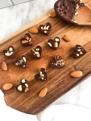 The Sweetest Treat: Chocolate Hearts for Valentine's Day