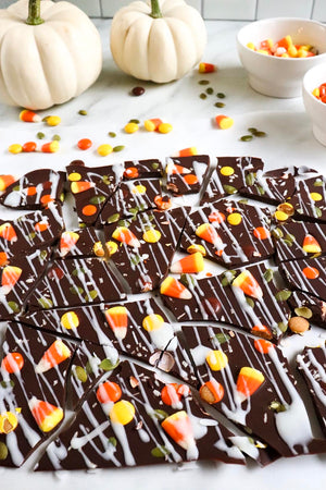 Treat Yourself to This Halloween Candy Bark with Collagen Peptides