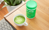 matcha collagen latte announcement