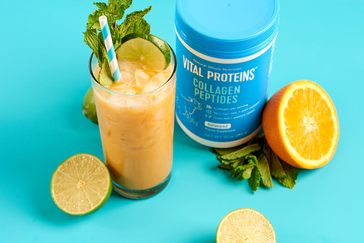 Collagen Peptides and Mango Smoothie