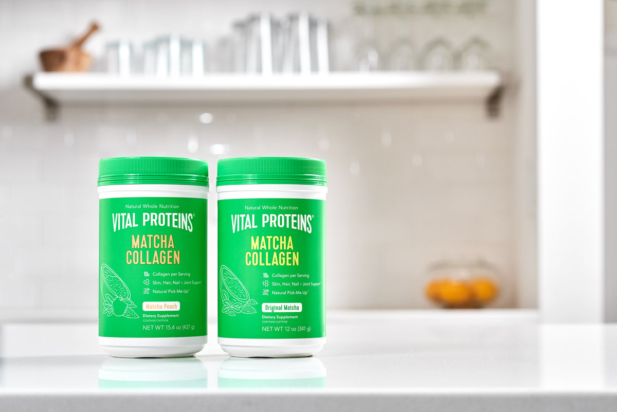 Matcha Collagen Canisters
