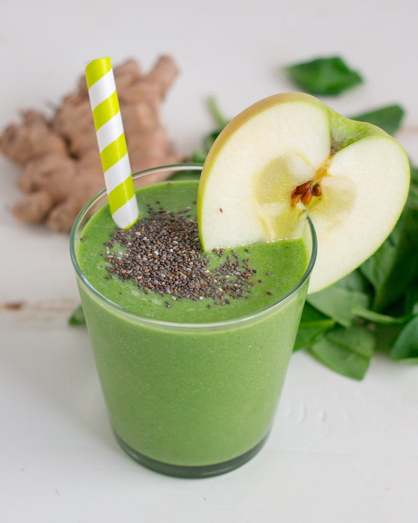 green apple smoothie