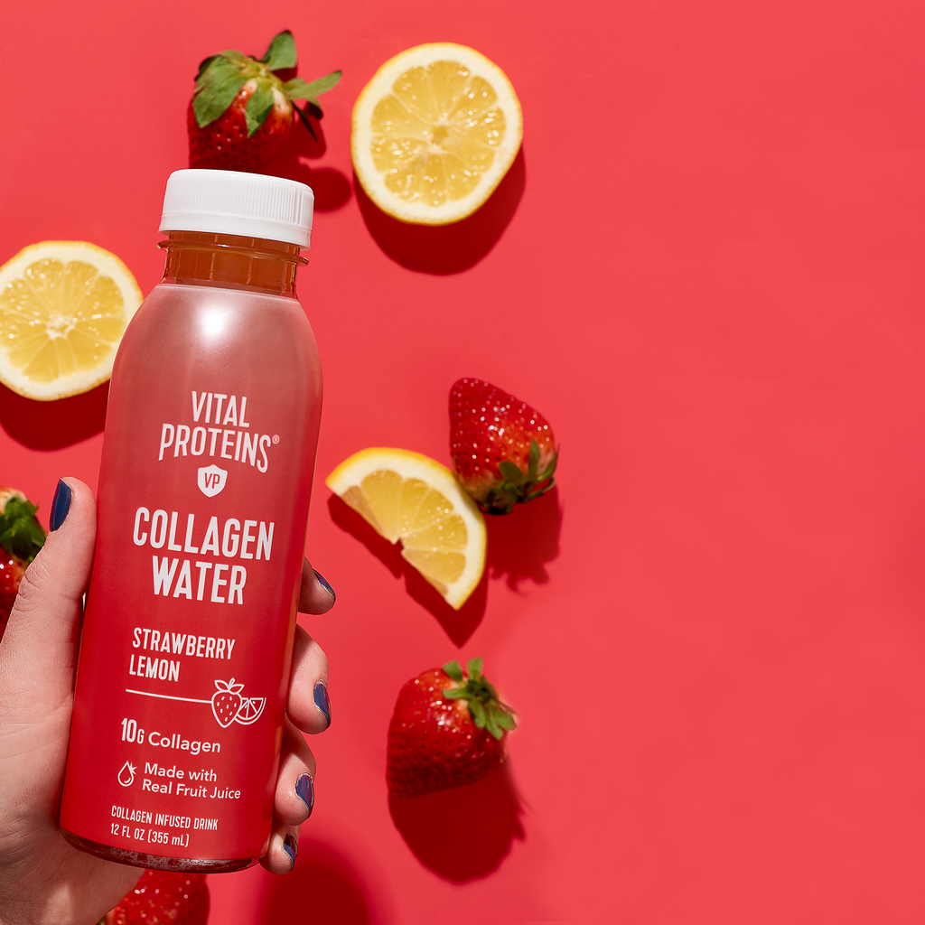 4 Strawberry Lemon Collagen Products You Need This Summer