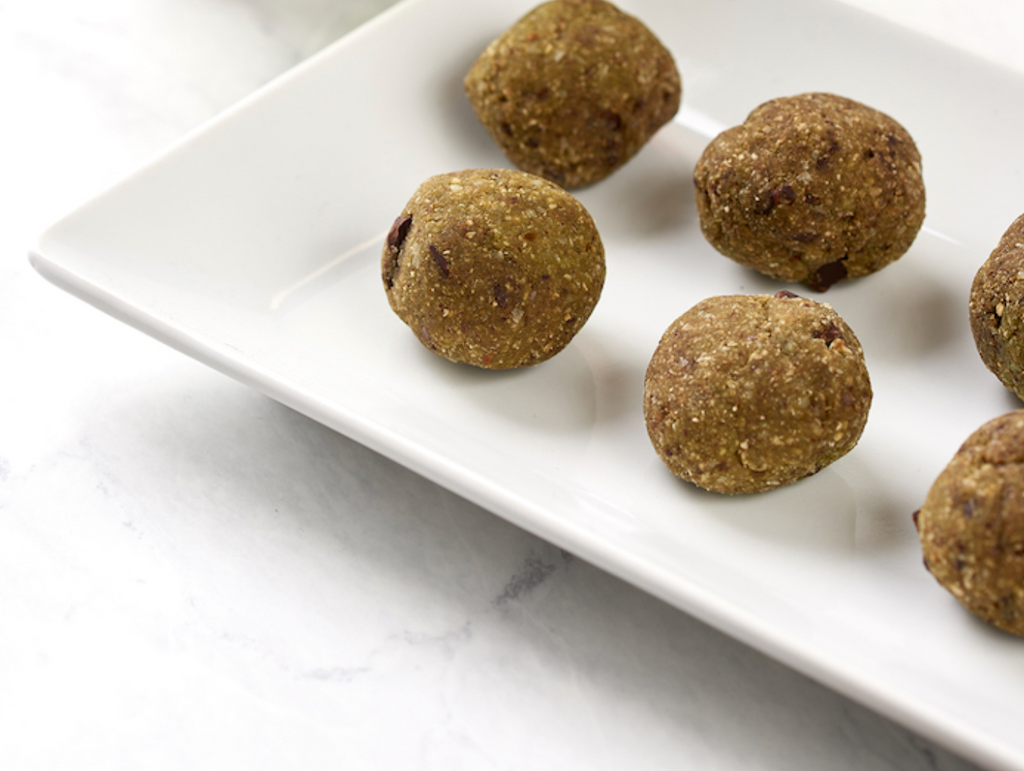 matcha bliss balls recipe