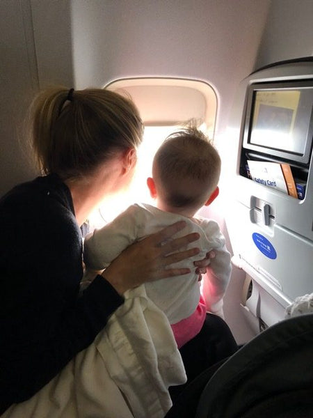 flying with a baby travel tips