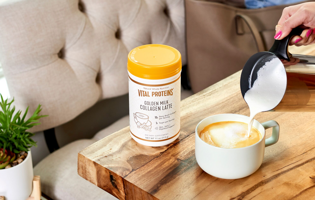 golden milk latte supplement