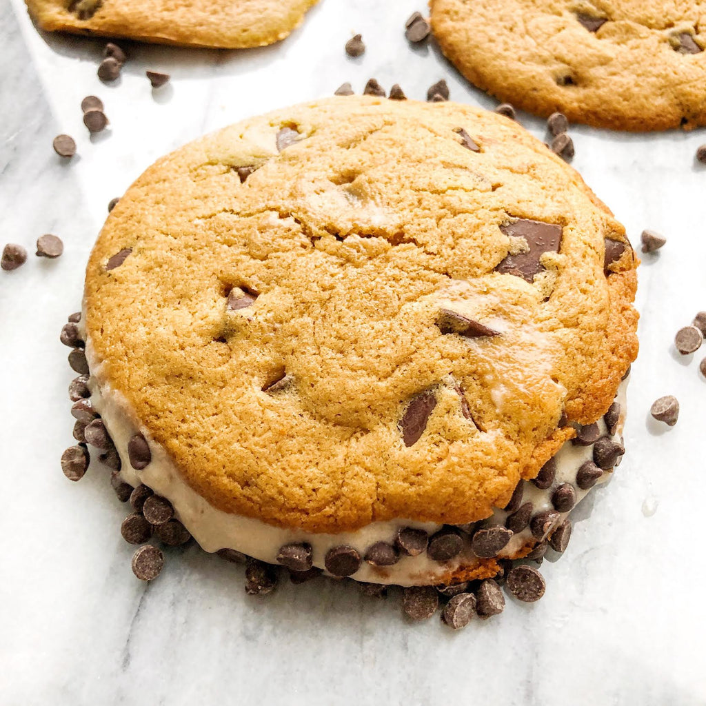 ice cream cookie sandwich