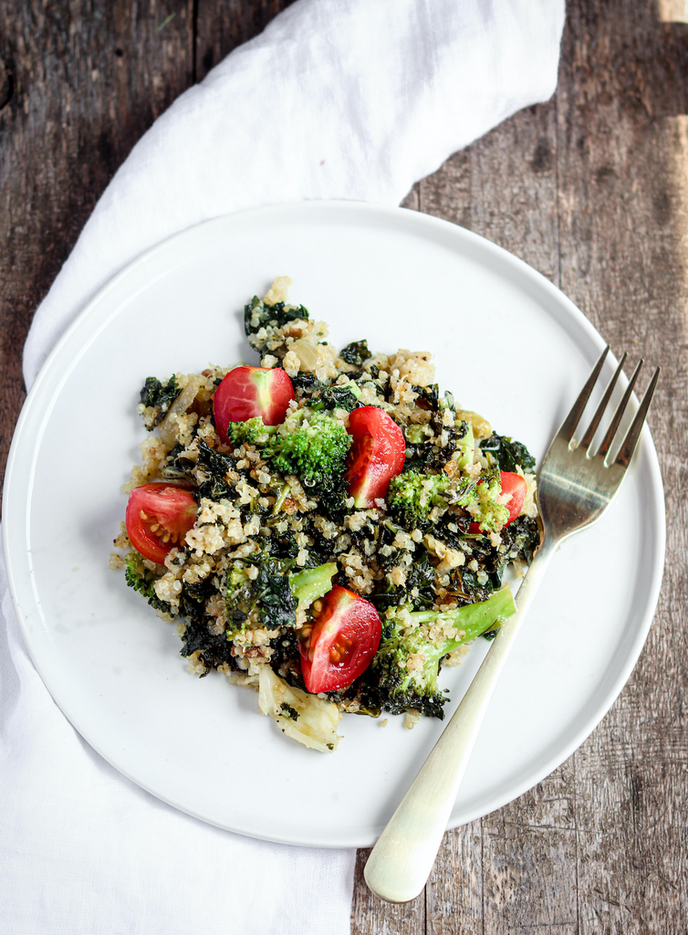 kale quinoa salad recipe