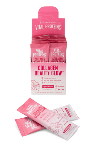 Collagen Beauty Glow -  Tropical Hibiscus - Vital Proteins