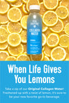 Collagen Water - Lemon Slice Collagen Drink | Vital Proteins |Lifestyle|