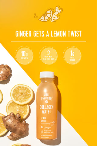 Collagen Water™ - Lemon Ginger - Vital Proteins |Lifestyle|