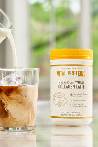 Collagen Latte - Madagascar Vanilla - Vital Proteins