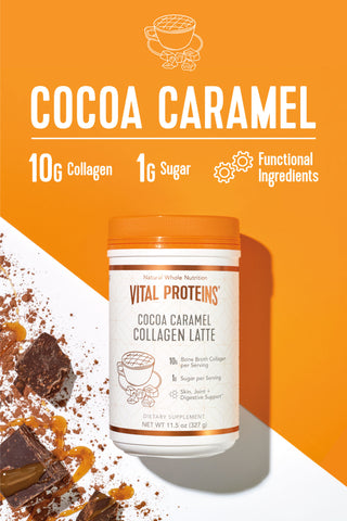 Collagen Latte - Cocoa Caramel - Vital Proteins