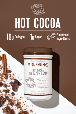 Collagen Latte - Hot Cocoa - Vital Proteins