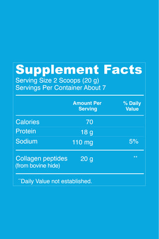 Collagen Peptides - Unflavored - Vital Proteins