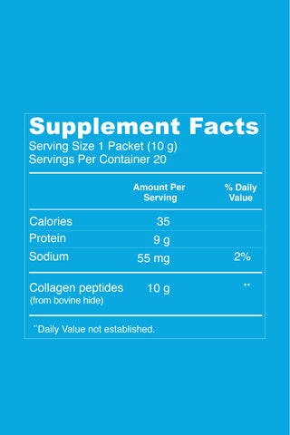 Collagen Peptides - Unflavored - Vital Proteins |CP20SPBW|