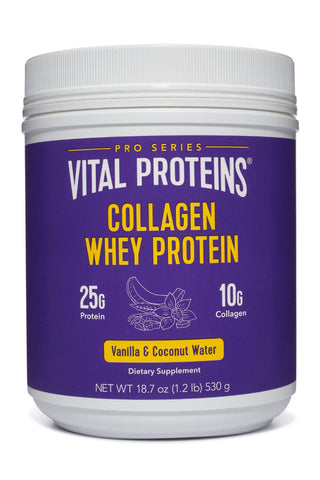 Collagen Whey Protein - Vanilla & Coconut Water - Vital Proteins