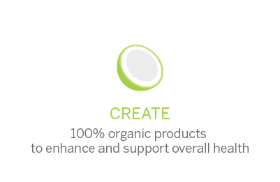 Create 100% organics products to enhance and support overall health.