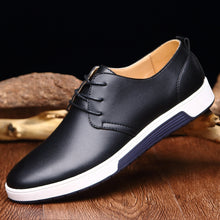 Hot Sale New Casual Shoes Leather Spring & Autumn Men's Flats Oxfords