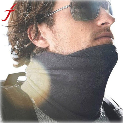 2016 Solid Shawl Horse Foulard Hijab From India Winter Neck Warmer Face Mask Hat Cycling #LSN
