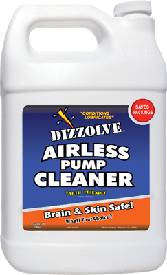 Dizzolve Airless Pump Cleaner 128 oz