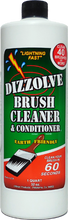 Dizzolve Brush Cleaner & Conditioner 32 oz