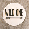 Wild One Wood Sign