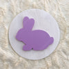 "12"""" EASTER BUNNY Round Wood Sign"