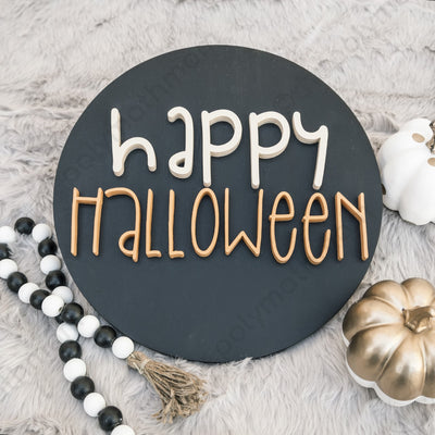 halloween wood decoration