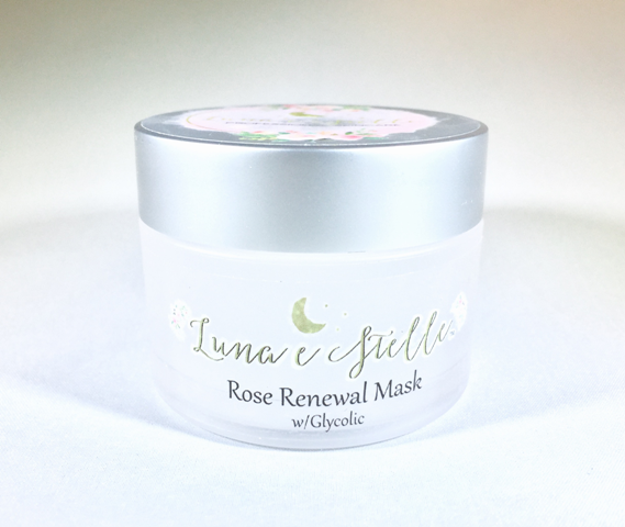 Rose Renewal Mask w/ Glycolic – MATURE, COMBINATION, BLEMISHED SKIN