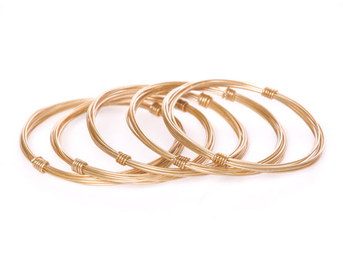 Ring Ring Bling Cage Bangles