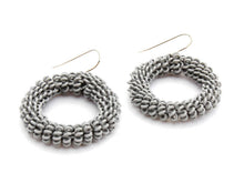 Ring Ring Bling Spiral earrings