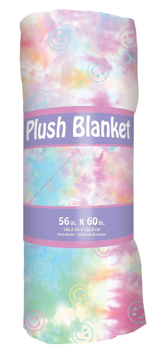 IScream Cotton Candy Plush Blanket
