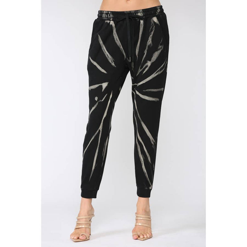 FATE SPIDER WEB TIE DYE JOGGERS